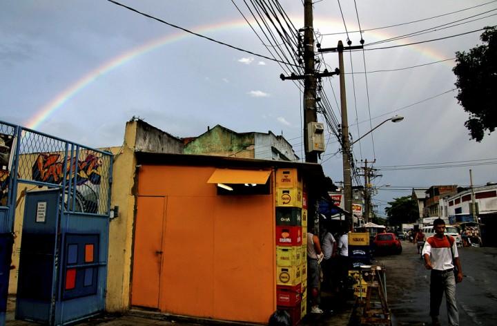 Nova Holanda, uma das 16 comunidades do bairro Maré. Rio de Janeiro, Brasil.