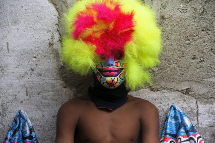 Bate-bola do Muquiço durante carnaval em Guadalupe. Rio de Janeiro, 2013 - Edmilson de Lima